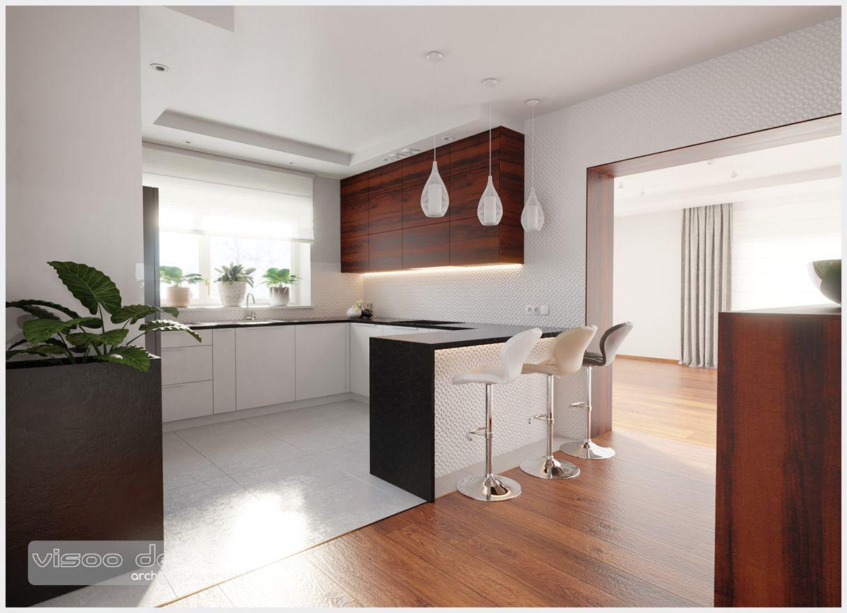 Projekt Kuchni W Domu Jednorodzinnym