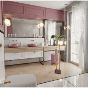 Oświetlenie strefowe w łazience